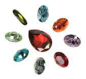 Large crystal strasses — Foto Stock