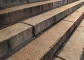 Scenic of clean outdoor steps — Foto de Stock
