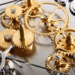 zegar mechaniczny — Zdjęcie stockowe #7311513