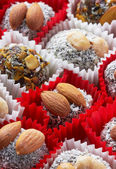 Candy with nuts — Stock Photo