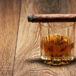 Whiskey and Cigar — Stock Photo #23835143