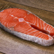 Piece of a salmon — Stock Photo