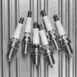 Stock Photo: Spark plug for car