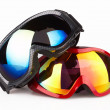 Stock Photo: Ski goggles