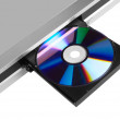 DVD player ejecting disc — Stock Photo #41890715