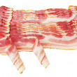 Stock Photo: Fresh Sliced Pork Bacon