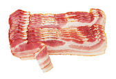 Fresh Sliced Pork Bacon — Stock Photo