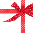 Red Ribbon with Bow — Stock Photo #51529997