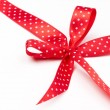 Red Ribbon with Bow — Stock Photo #51530009