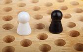 Chinese checkers figurine — Stock Photo