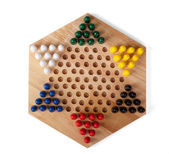 Chinese checkers wooden — Stock Photo