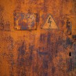 Royalty-Free Stock Photo: Old rusty metal door