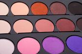Многоцветный тени для глаз — Стоковое фото
