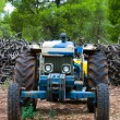 The old tractor — Stock Photo #1668377