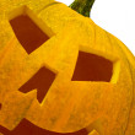 Big orange Jack-O-Lantern Pumpkin — Stock Photo #2695252