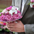 Bouquet for the bride — Stock Photo