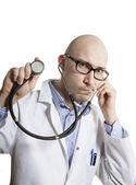 Młody lekarz stetoskop — Zdjęcie stockowe