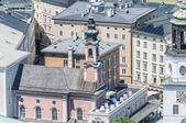 Saint Michael Church (Michaelkirche) at Salzburg, Austria — Stock Photo