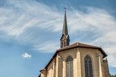 Catedral de saint paul en esslingen am neckar, alemania — Foto de Stock