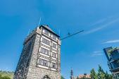 Torre di porta schelztor a esslingen am neckar, germania — Foto Stock