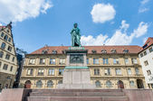 The Schiller memorial in Stuttgart, Germany — Stock Photo