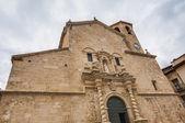 сан-бартоломе церкви в beceite, теруэль — Стоковое фото