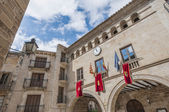 City-hall building at Calaceite, Spain — Stock Photo