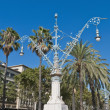 Stock Photo: Lluis Companys Avenue in Barcelona, Spain