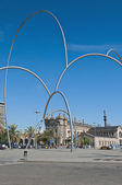 Carbonera square in Barcelona, Spain — Stock Photo