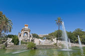 Ciutadella Park in Barcelona, Spain — Stock Photo