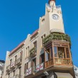 Stock Photo: Modernist building at Sitges, Spain