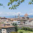 Stock Photo: Florence's as seen from Piazzale Michelangelo, Italy