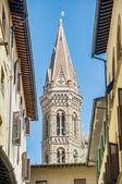 Badia fiorentina, bir manastır ve kilise floransa, i̇talya — Stok fotoğraf