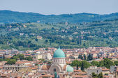 A grande sinagoga de florença, itália — Fotografia Stock
