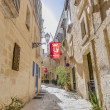 Northwest Street in Vittoriosa, Malta — Stock Photo #18519355