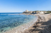 Qbajjar Bay on the island of Gozo, Malta. — Stock Photo