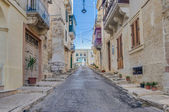 Southwest Street in Vittoriosa (Birgu), Malta — Stock Photo