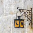 Streetlamp in Vittoriosa (Birgu) Malta — Stock Photo