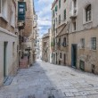 Battery Street in Valletta, Malta — Stock fotografie #18529779