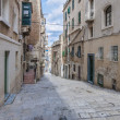 Stockfoto: Battery Street in Valletta, Malta
