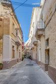 Tabone Street in Vittoriosa, Malta — Stockfoto