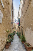 North Street in Vittoriosa, Malta — Stock Photo