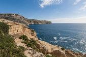 The Dingli Cliffs in Malta — Stock Photo