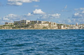 Villa Giovanni Bighi in Kalkara, Malta — Stockfoto