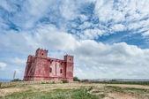 святой агаты башня на мальте — Стоковое фото
