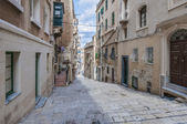 Battery Street in Valletta, Malta — Stock Photo