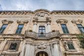 The Castellania building facade in Valletta, Malta — Stock Photo