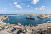 La Valletta Grand Harbour, Malta — Stock Photo