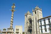 Porto cathedral, Portugal — Stock Photo