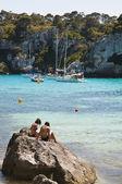 пляж макарелья — Стоковое фото